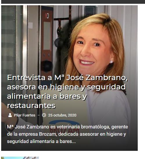 Hoy me han entrevistado para Sevillainfo