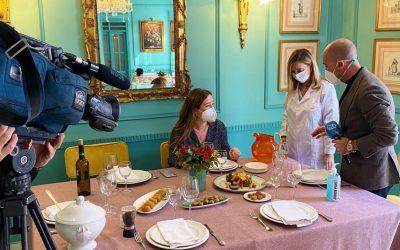 Hoy entrevista para Canal Sur Noticias. Brozam con Sergio Morante