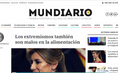 Artículo de opinión en MUNDIARIO, sobre palabras de Begoña Gómez